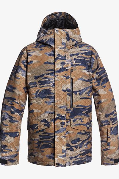 Куртка сноубордическая QUIKSILVER Mission Prin Military Olive