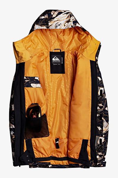 Куртка сноубордическая QUIKSILVER Mission Prin Flame Nature Abstrak