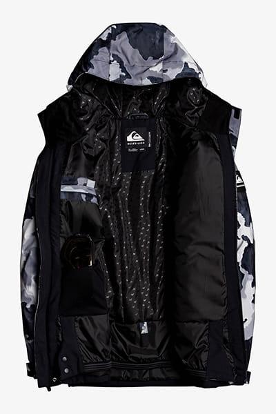 Куртка сноубордическая QUIKSILVER Mission Bloc True Black Bustin