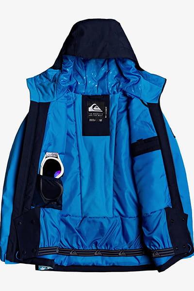 Куртка сноубордическая детский QUIKSILVER Side Hit Brilliant Blue