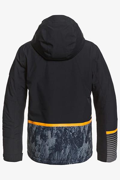 Куртка сноубордическая детский QUIKSILVER Silvertip True Black Parafinum