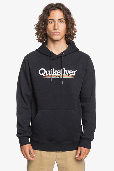 Толстовка QUIKSILVER Tropicallinessf Black