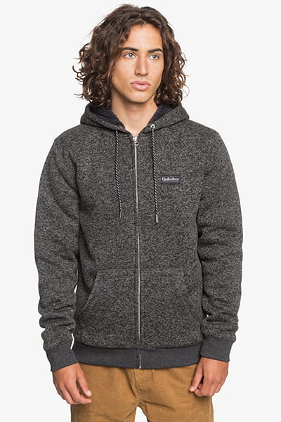 Толстовка QUIKSILVER Kellersherpalin Dark Grey Heather