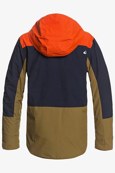 Куртка Сноубордическая QUIKSILVER Ambiti Youth Jk B Snjt Nze0 Pureed Pumpkin