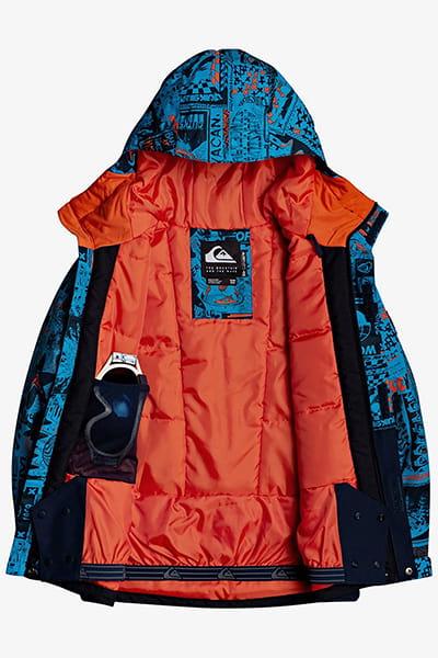 Куртка Сноубордическая QUIKSILVER Mission Blk Yth B Snjt Bnl4 Brilliant Blue H3 Pr