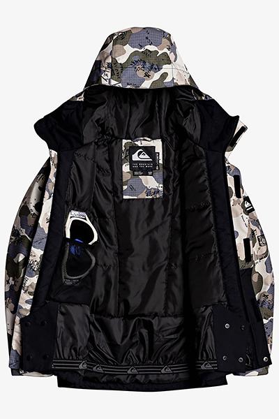 Куртка Сноубордическая QUIKSILVER Mission Blk Yth B Snjt Kzm6 Iron Gate Wichita