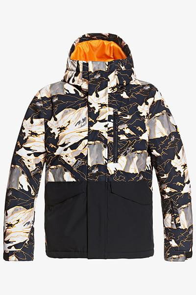 Куртка Сноубордическая QUIKSILVER Mission Blk Yth B Snjt Nkp2 Flame Nature Abstrak