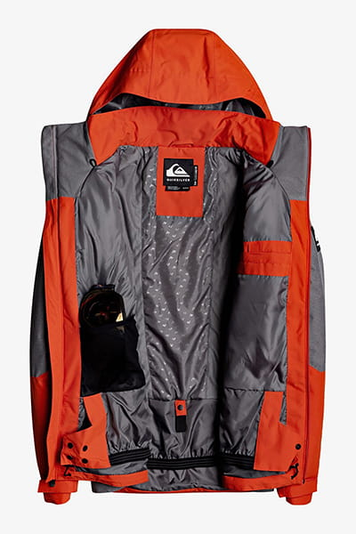 Куртка Сноубордическая QUIKSILVER Mission Plus Jk M Snjt Kzm0 Iron Gate