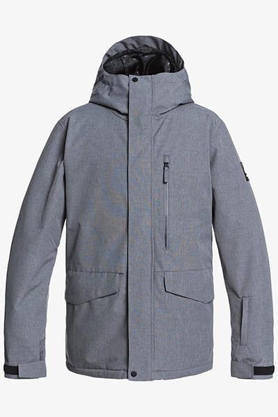 Куртка Сноубордическая QUIKSILVER Mission Soli Jk M Snjt Sje0 Heather Grey