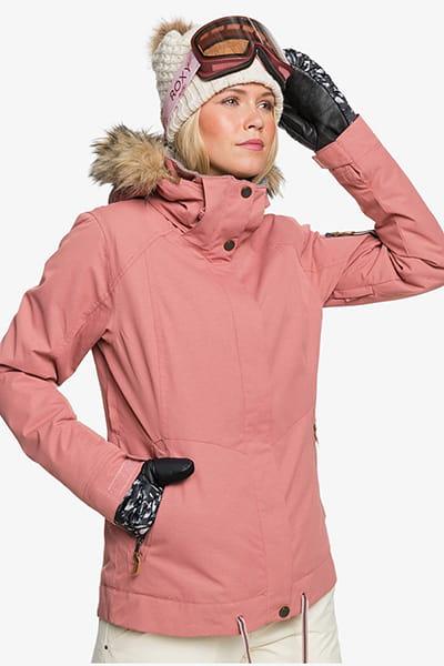 Куртка ROXY Сноубордическая Meade Jk J Snjt Mkp0 Dusty Rose