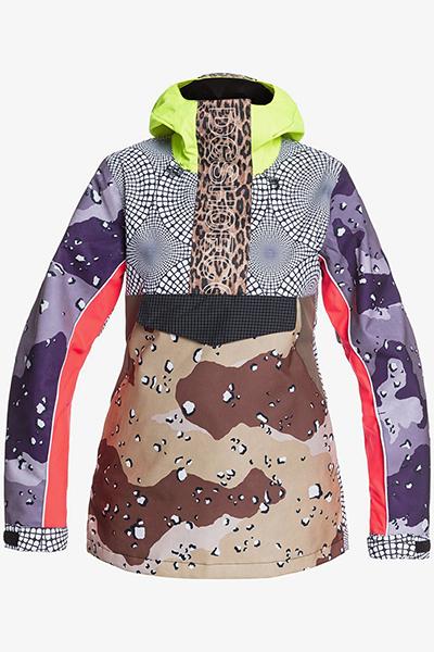 Куртка женская DC Shoes Envy Anorak Se Repurpose Multi Camo