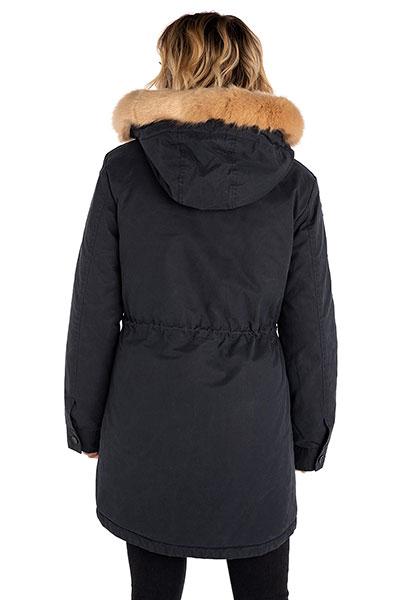 Куртка женская Rip Curl Racer Parka Jaket Blue Graphite