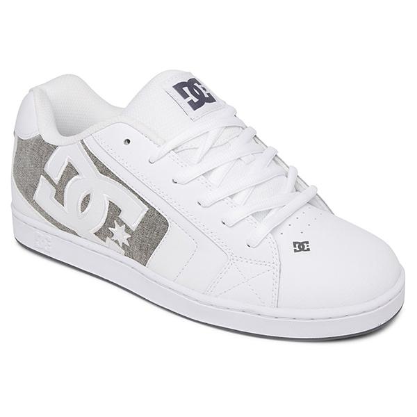 Кеды DC Shoes Net Waw White/Armor/White