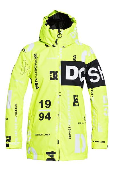 Куртка сноубордическая детский DC Shoes Prpagandaythjk Syndicate Safety Yel