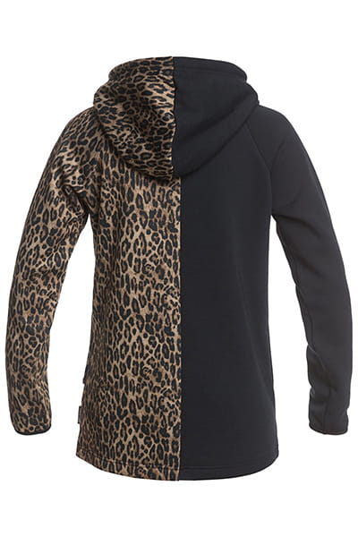 Джемпер женский DC Shoes Salem Fleece Leopard Fade