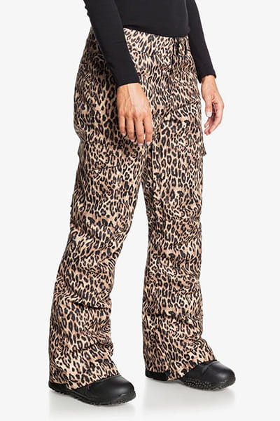 Штаны сноубордические женские DC Shoes Nonchalant Pant Leopard Fade