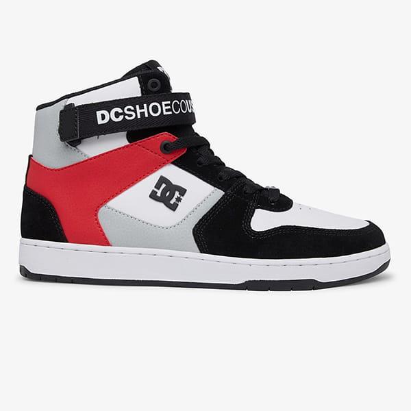 Кеды DC Shoes Pensford Black/Grey/Red