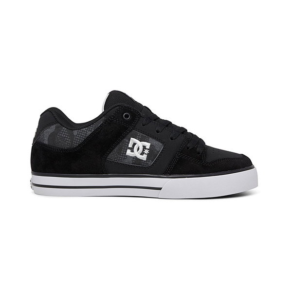 Кеды DC Shoes Pure Black/Grey