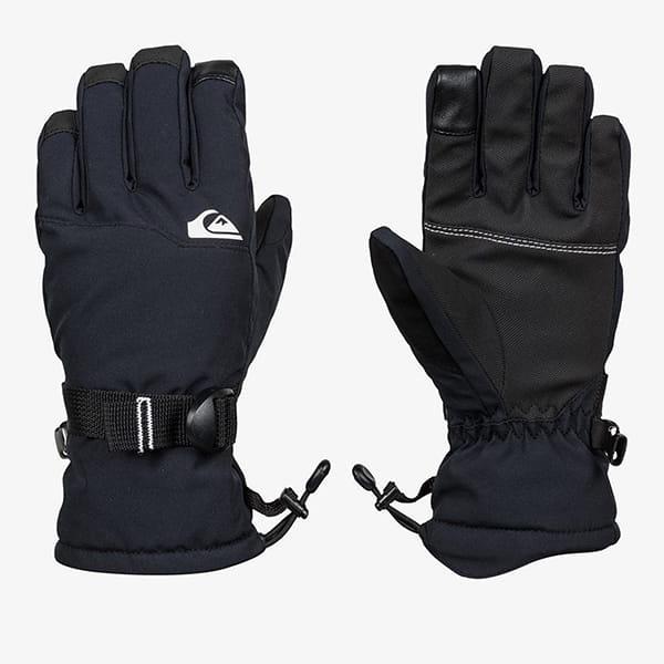 Перчатки сноубордические детские QUIKSILVER Mission True Black