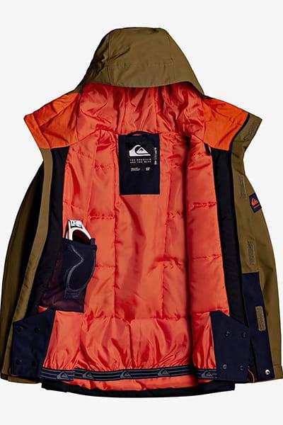 Куртка сноубордическая детский QUIKSILVER Mission S Military Olive