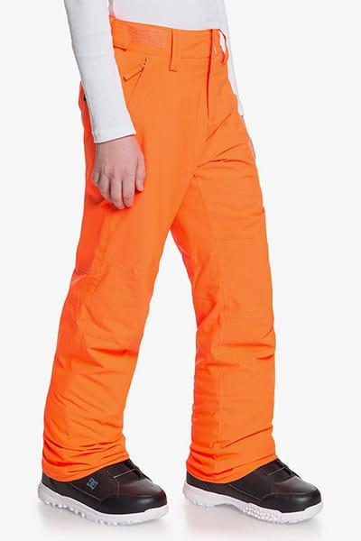 Штаны сноубордические детские QUIKSILVER Arcade Shocking Orange