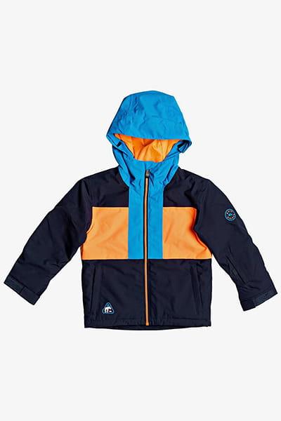 Куртка сноубордическая детский QUIKSILVER Groomer Kids Navy Blazer