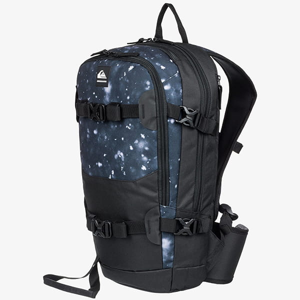 Рюкзак QUIKSILVER Oxydize Backpac True Black Woolflake