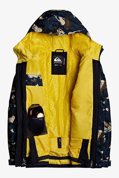 Куртка сноубордическая QUIKSILVER Mission Bloc Sulphur Print