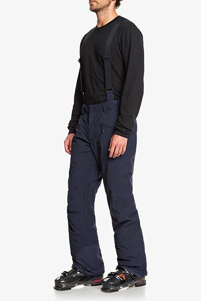Штаны сноубордические QUIKSILVER Boundry Navy Blazer