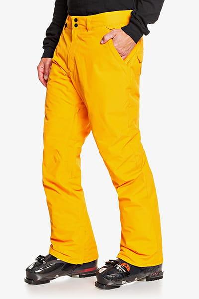 Штаны сноубордические QUIKSILVER Estate Flame Orange