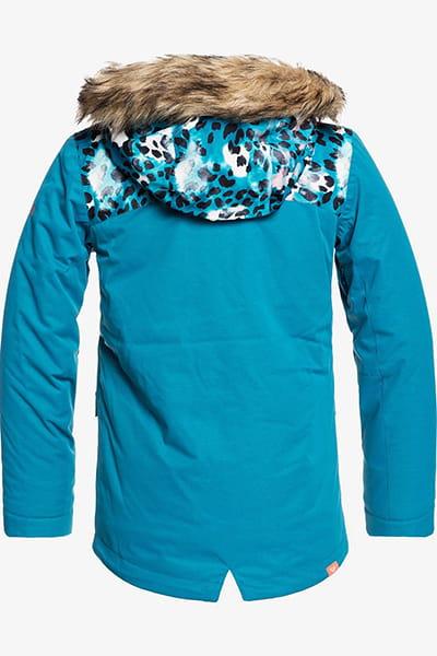 Куртка сноубордическая детский Roxy Moonlight Girl Ocean Depths Leopold