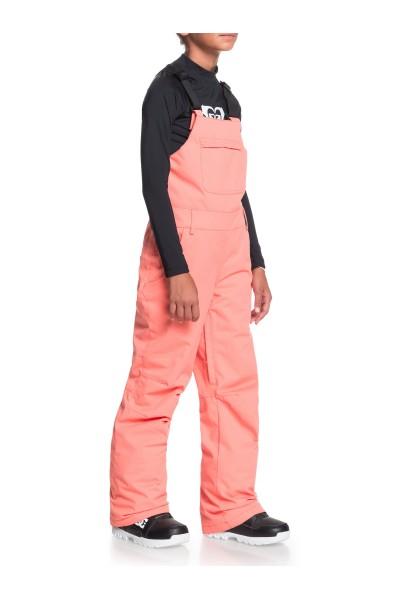 Комбинезон сноубордический детский Roxy Bib Girl Fusion Coral