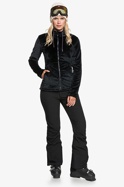 Куртка женская Roxy Tundra Fleece True Black