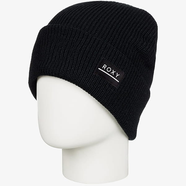 Шапка женская Roxy Harper Beanie True Black