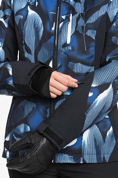 Куртка сноубордическая женский Roxy Jet Ski Premium Blue Stripe