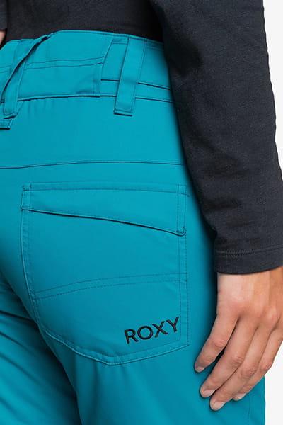 Штаны сноубордические женские Roxy Backyard Ocean Depths