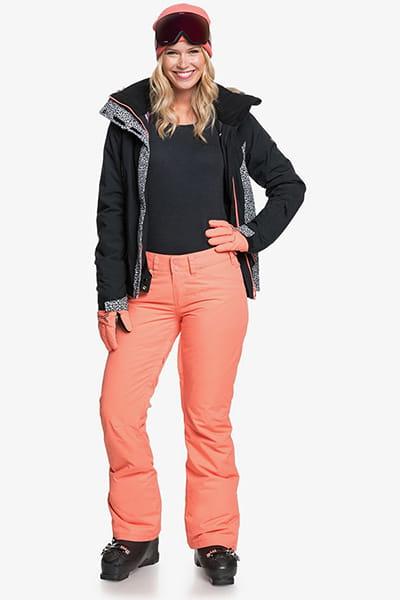 Штаны сноубордические женские Roxy Backyard Fusion Coral