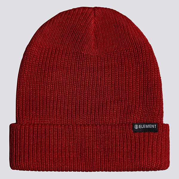 Шапка Element Kernel Beanie Fire Red-101