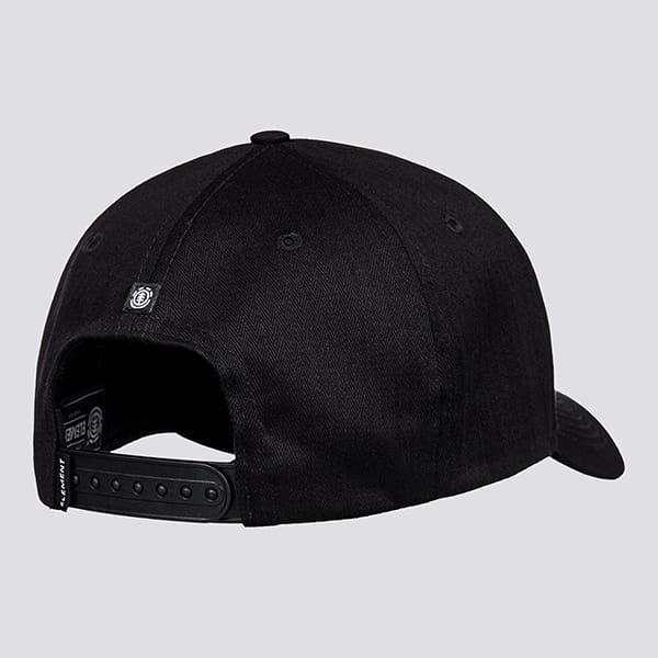 Бейсболка Element Wild Cap All Black