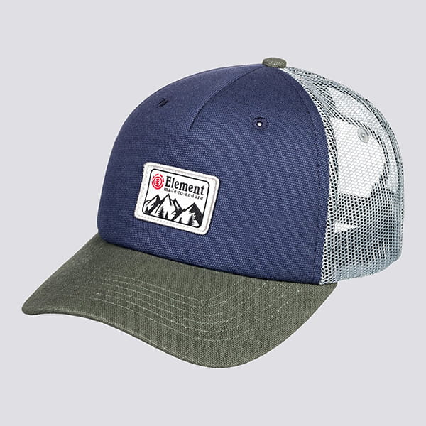 Бейсболка Element Icon Mesh Cap Indigo