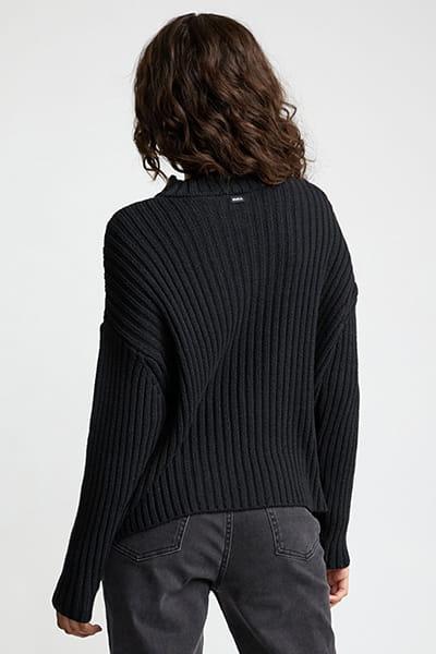 Джемпер женский Rvca Arabella Sweater Black