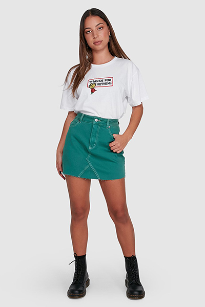 Юбка женская Rvca Siena Storm Green