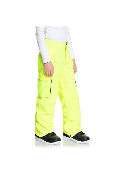 Штаны сноубордические детские DC Shoes Adbtp03001 Safety Yellow