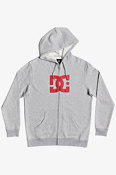 Толстовка DC Shoes Star Heather Grey