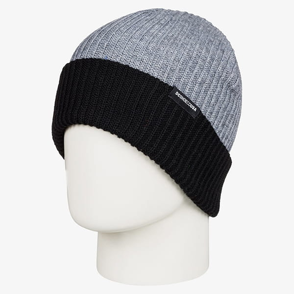 Шапка DC Shoes Caf Beanie Frost Gray