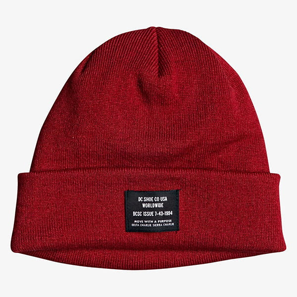 Шапка DC Shoes Workman Beanie Chili Pepper