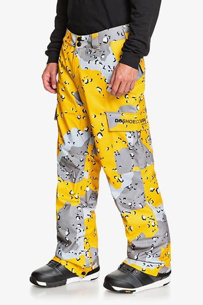 Штаны сноубордические DC Shoes Banshee Pant Chocolate Chip Lemon