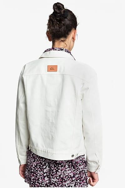 Куртка джинсовая женская QUIKSILVER Ogtruckercolor Lily White