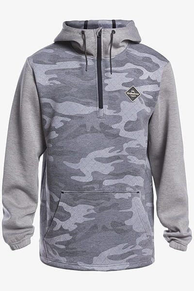 Джемпер QUIKSILVER Shredder Hoodie Black Gps Point