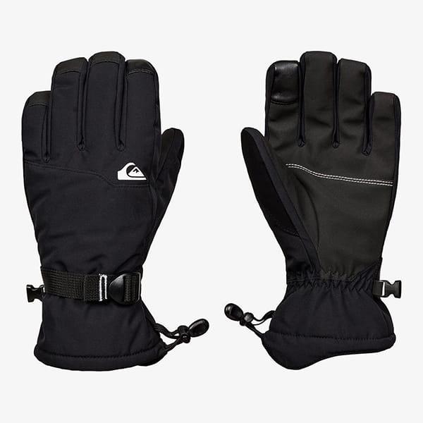 Перчатки сноубордические QUIKSILVER Mission Glove True Black